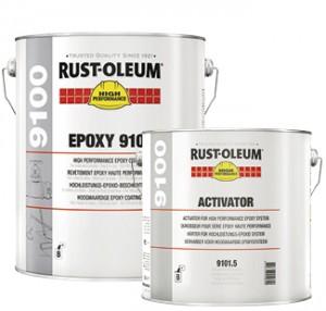 farby epoksydowe na metal do metalu antykorozyjne epoksyd rust oleum 9100