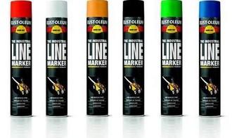 farba do malowania linii spraye hard hat rust oleum 2300 spray