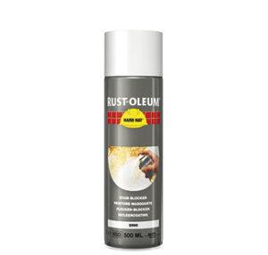 farba na zacieki plamy spray usuwanie zacieków maskowanie sadze nikotynę rust oleum 2990 hard hat