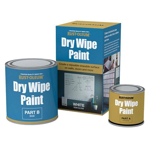farba suchościeralna tablicowa do pisania rysowania pisakami markerami tablicy tablic biała rust oleum