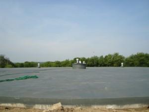 Zbiorniki Wody Pitnej - Zakład Produkcji Wody Miedwie - 2600 m2 - izolacja betonów Dacfill HZ