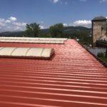 noxyde farba wodoodporna na dach do dachu antykorozyjna dachy dachów farby antykorozyjne metalowych stalowych metalowe stalowe malowania malowanie falistych trapezowych