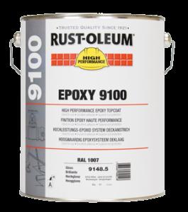posadzka epoksydowa rust oleum 9100 farba epoksydowa na posadzki na beton