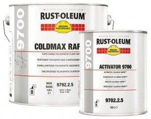 posadzka żywiczna Posadzka poliasparaginowa Rust Oleum 9700 Posadzki poliasparaginowe farba farby