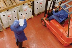 Farba poliuretanowa na posadzki Rust-Oleum 9600 posadzka na beton do betonu