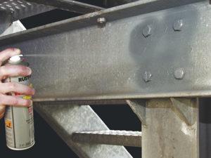 powłoki cynkowe rust oleum 1017 1085 glava zinc ocynk w sprayu cynk cynkowanie na zimno galwanizacja