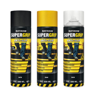 spray antypoślizgowy farba na schody rust oleum 2400 hard hat powłoki aerozol lakier posadzki beton farby w sprayu