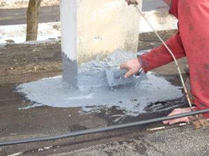uszczelnienie dachu zimą papy fillcoat fibres