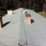 uszczelnienie papy dachu dacfill masa uszczelniająca farba na pape dachów do powłoki dachowe membrany elastyczne bezspoinowe pokrycia wodoszczelne przemysłowe
