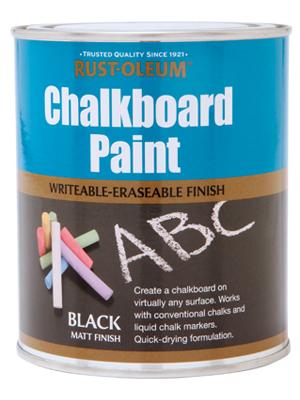 farba do tablicy czarna kredowa czarne kredowe farby tablicowa tablic tablicowe rust oleum chalkboard pisania kreda kredami